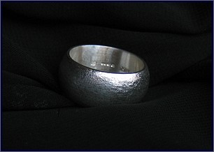 Initiation unique rings, handmade jewellery made with sterling silver and moonstone